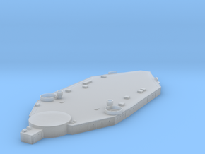 1/700 US South Dakota Superstructure 1 in Smooth Fine Detail Plastic
