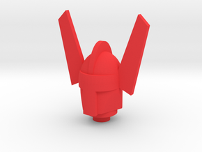 Phobos Marvel Acroyear Head in Red Processed Versatile Plastic
