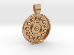 Antique solar system [pendant] in Polished Bronze