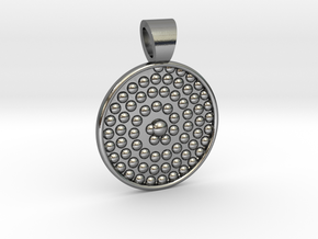 Life spiral [pendant] in Polished Silver