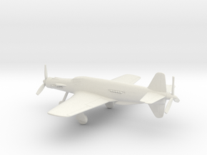 Dornier Do 335 V1 Pfeil in White Natural Versatile Plastic: 1:72