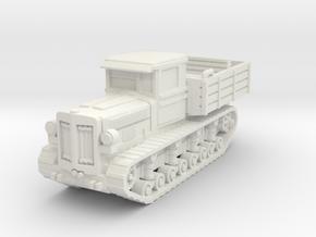 Komintern tractor 1/100 in White Natural Versatile Plastic