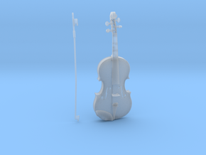1/3rd scale Violin in Smooth Fine Detail Plastic