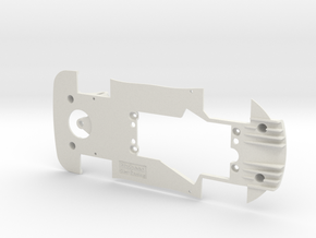 PSCA00101 Chassis for Carrera Mercedes AM GT3 in White Natural Versatile Plastic