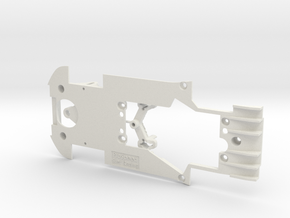 PSCA00403 Chassis Set for Carrera Lamborghini Hura in White Natural Versatile Plastic