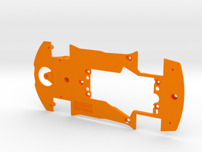 PSNS00301 Chassis for NSR Corvette C7 GT3 in Orange Processed Versatile Plastic