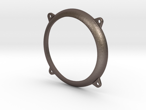 NW Pyle Headlight Bezel in Polished Bronzed-Silver Steel