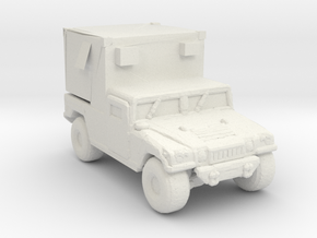 M1097A2 MSE 285 scale in White Natural Versatile Plastic