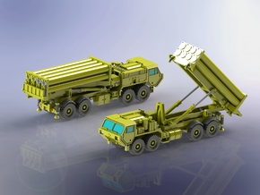 Oshkosh M1120 THAAD SAM Launcher 1/285 in Smoothest Fine Detail Plastic