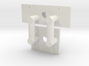 archbar swing link truck plate assembly in White Natural Versatile Plastic