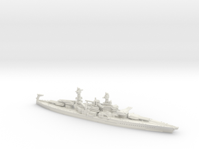 USN BB49 South Dakota [1925] in White Natural Versatile Plastic: 1:1200