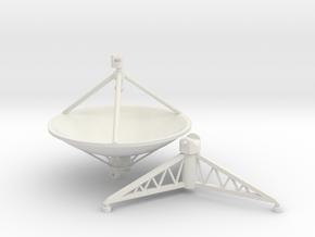 Parabolic antenna (210 cm) 1/32. in White Natural Versatile Plastic