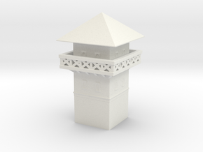 roman Watchtower 1/200 in White Natural Versatile Plastic