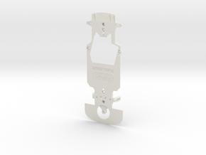 Black Bull CHASSIS FOR WOODEN TRACKS  V2.0 in White Natural Versatile Plastic