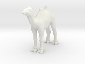 Printle Thing Camel - 1/87 in White Natural Versatile Plastic