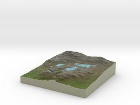 Terrafab generated model Tue Apr 17 2018 18:33:53  in Natural Full Color Sandstone