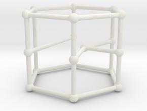 Blanuša snark no. 1 in White Natural Versatile Plastic: Large