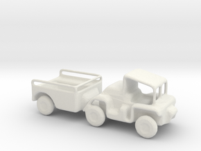 1/144 Scale M561Gama Goat in White Natural Versatile Plastic