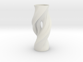 Vase FTV2238 in White Natural Versatile Plastic