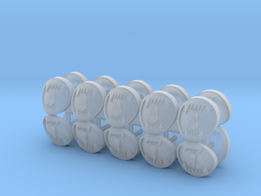 Toothed Mouth Desmodus Shoulder pad icons x20 #3 in Smooth Fine Detail Plastic