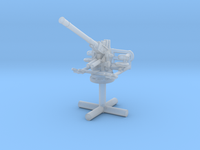 1/285 40mm Single Bofors [Elevated] in Smooth Fine Detail Plastic