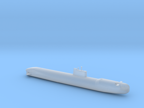 1/700 Scale USSR Tango Class Submarine in Smooth Fine Detail Plastic