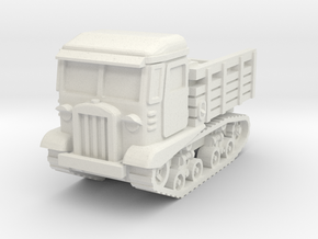 STZ 5 tractor scale 1/87 in White Natural Versatile Plastic