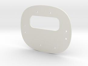 Base in White Natural Versatile Plastic