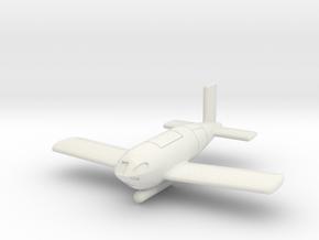 (1:72) Messerschmitt Me P.1103/I in White Natural Versatile Plastic