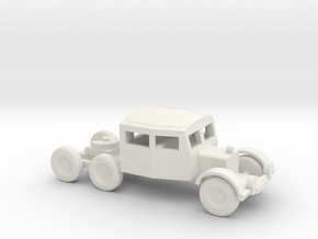 1/144 Scale Scammel Tank Transporter in White Natural Versatile Plastic