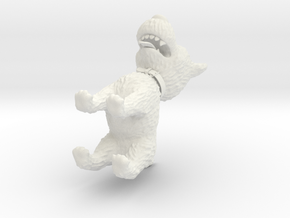 Dog_3D_solid in White Natural Versatile Plastic