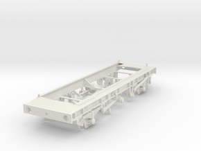 7mm TTA Molasses tank chassis in White Natural Versatile Plastic