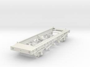 7mm TTA Molasses tank chassis in White Natural Versatile Plastic