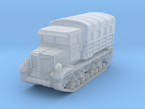 Voroshilovets tractor (covered) scale 1/144 in Smooth Fine Detail Plastic