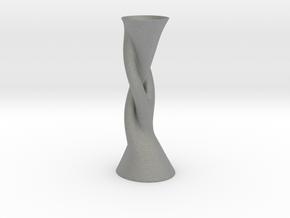 Vase Hlx1640 in Gray PA12