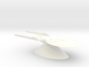 Federation of Planets - Sovereign in White Processed Versatile Plastic