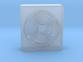 Residential Window Fan in Smooth Fine Detail Plastic: 1:64 - S