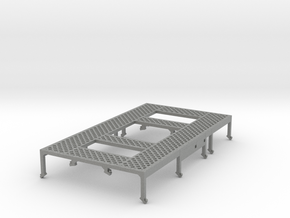 7mm TTA Molasses tank walkway mesh in Gray Professional Plastic