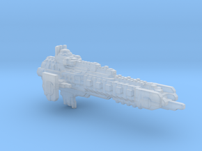 BFG Inquisitorial cruiser fleet scale in Smooth Fine Detail Plastic