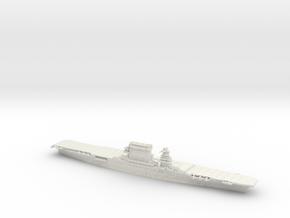 US CV2 Lexington [1942] in White Natural Versatile Plastic: 1:1200
