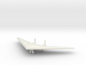 (1:144) Horten Ho VII in White Natural Versatile Plastic