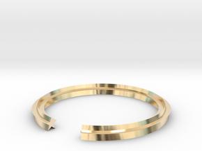 Star 14.36mm in 14k Gold Plated Brass