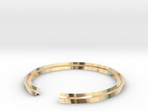 Star 16.51mm in 14k Gold Plated Brass