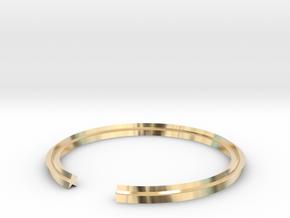 Star 18.89mm in 14k Gold Plated Brass