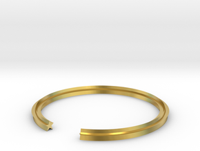 Star 19.84mm in Polished Brass