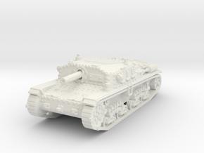 Semovente M42 75/18 1/100 in White Natural Versatile Plastic