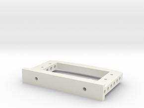 Servoträger V1 in White Natural Versatile Plastic