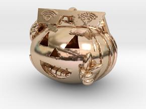 GVC Peace Pumpkin in 14k Rose Gold