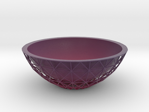 Root Bowl in Matte Full Color Sandstone