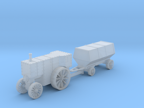 Flowrer B5 loco and car 1:200 in Smooth Fine Detail Plastic